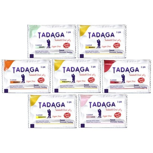 Buy Tadaga Oral Jelly 20mg Online in US @ Low Price - Viagrameds